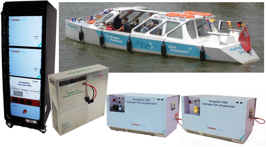 Developing efficient hydrogen fuel cell products and solutions